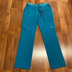 Scrubletics turquoise scrub pants